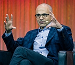 Satya Nadella - Image by Le Web Paris