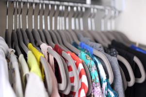 photo of organized closet