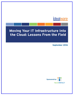 Moving Your IT Infrastructure Into the Cloud: Lessons from the Field
